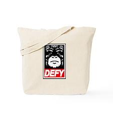 Defy Monkey Tote Bag