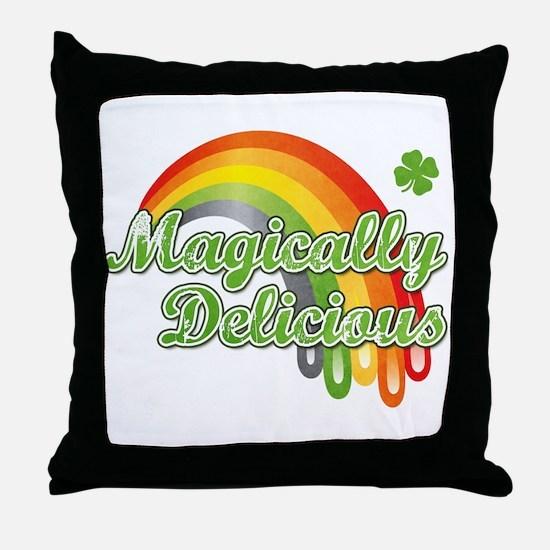 Magically Delicious Throw Pillow