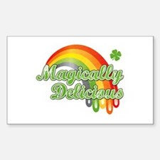 Magically Delicious Sticker (Rectangle)