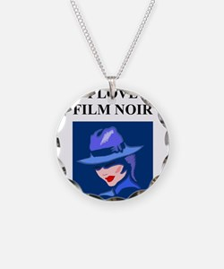 film noir gifts and t-shirts Necklace
