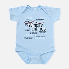 Vampire Diaries Quotes Infant Bodysuit