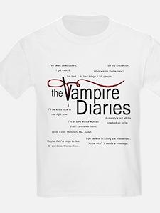 Vampire Diaries Quotes T-Shirt