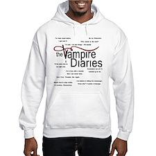 Vampire Diaries Quotes Hoodie