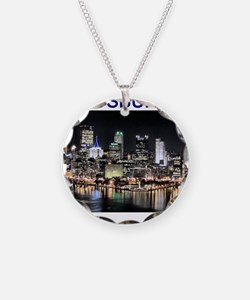 pittsburgh gifts and tee-shir Necklace