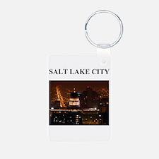SALT LAKE CITY Keychains