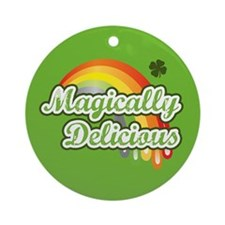 Magically Delicious Ornament (Round)