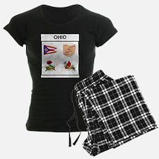 stae of ohio design Pajamas