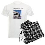 the colisseum rome italy gift Men's Light Pajamas