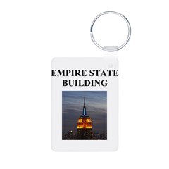 empire state building Keychains