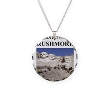 mount rushmore gifts and t-sh Necklace