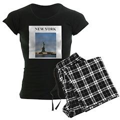 statue of liberty new york ci Pajamas