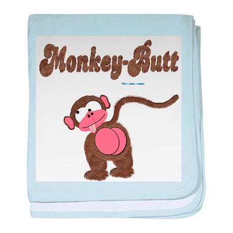 Monkey-Butt baby blanket