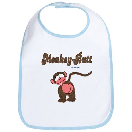 Monkey-Butt Bib