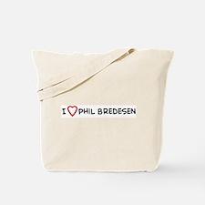 I Love Phil Bredesen Tote Bag
