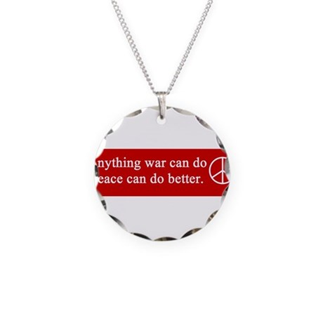 gail's peace gifts Necklace Circle Charm