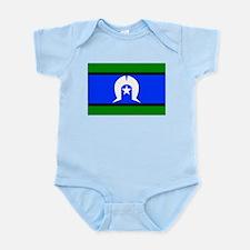 Torres Strait Flag Infant Bodysuit