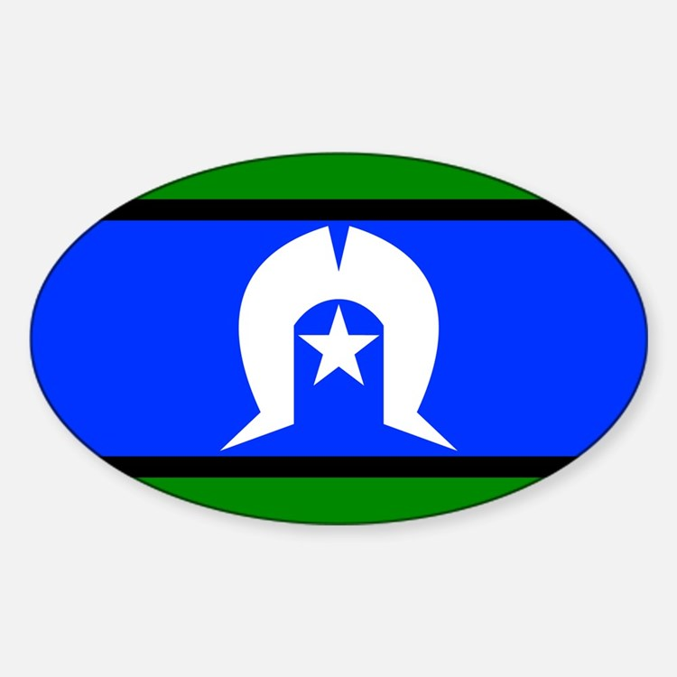 Torres Strait Flag Decal