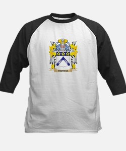Thomas Family Crest - Coat of Arms Baseball Jersey