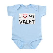 I Love Valet Infant Creeper