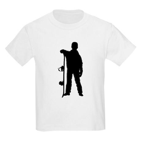 Snowboarding Kids Light T-Shirt