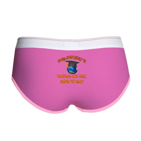 Funny Graduation Women's Boy Brief