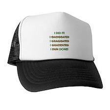 Funny Graduation Trucker Hat