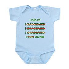 Funny Graduation Infant Bodysuit