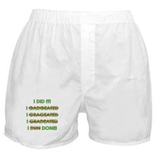 Funny Graduation Boxer Shorts