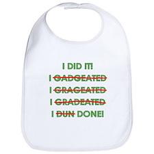 Funny Graduation Bib