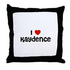 I * Kaydence Throw Pillow