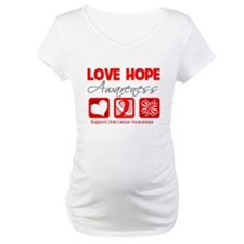 Oral Cancer Love Hope Shirt