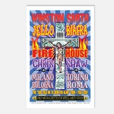 Italy Tour Poster Postcards (Package of 8)
