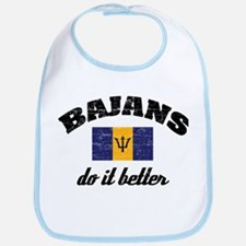 Bajans do it better Bib