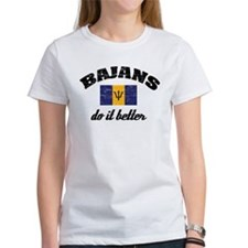Bajans do it better Tee