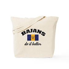 Bajans do it better Tote Bag
