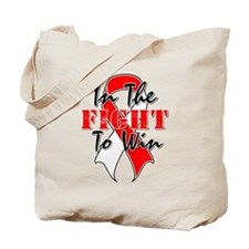 Oral Cancer In The Fight Tote Bag