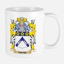 Thome Family Crest - Coat of Arms Mugs
