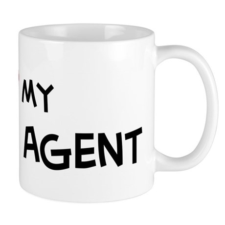 I Love Travel Agent Mug