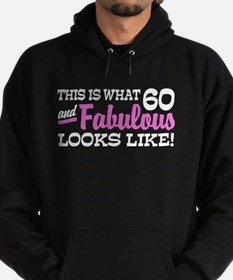 Funny 60th Birthday Hoodie (dark)