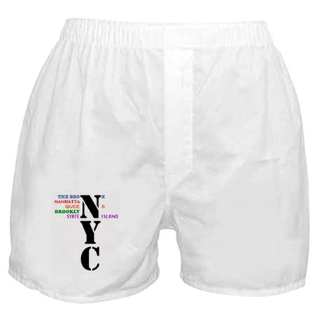NYC Big Apple All-Stars Boxer Shorts