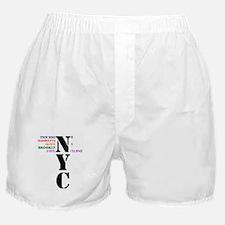 NYC Big Apple All-Stars Boxer Shorts