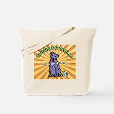 Think Pit Bull! Tote Bag