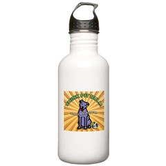 Think Pit Bull! Water Bottle