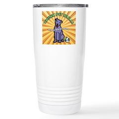 Think Pit Bull! Travel Mug