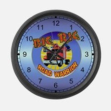 Big Rig Trucker Large Wall Clock