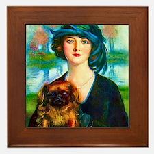 Art Deco Best Seller Framed Tile