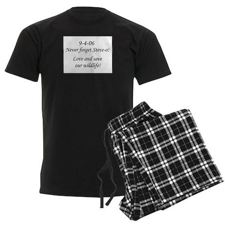 Never forget Steve-o! Men's Dark Pajamas
