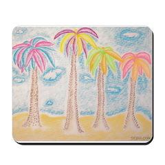 Colorful Palms Mousepad