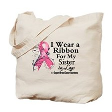 SisterinLaw Breast Cancer Tote Bag