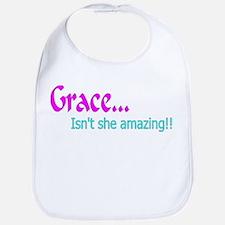 grace Baby Bib